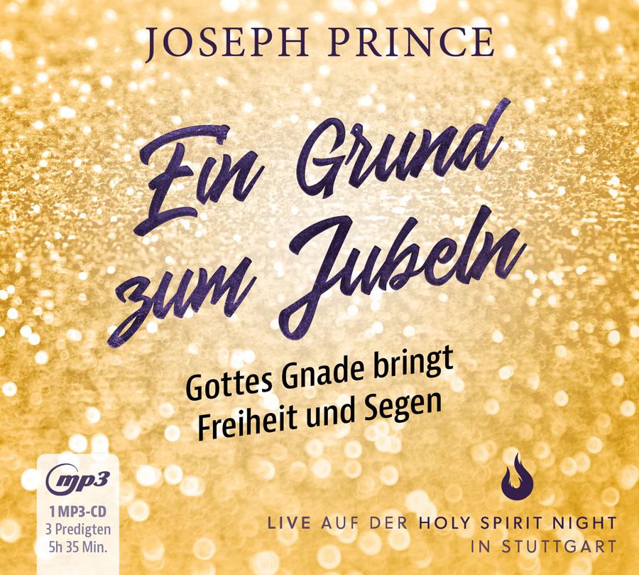 Joseph Prince – Ein Grund zum Jubeln (MP3-CD)